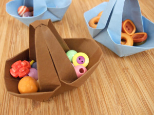 Paperfolding-basket