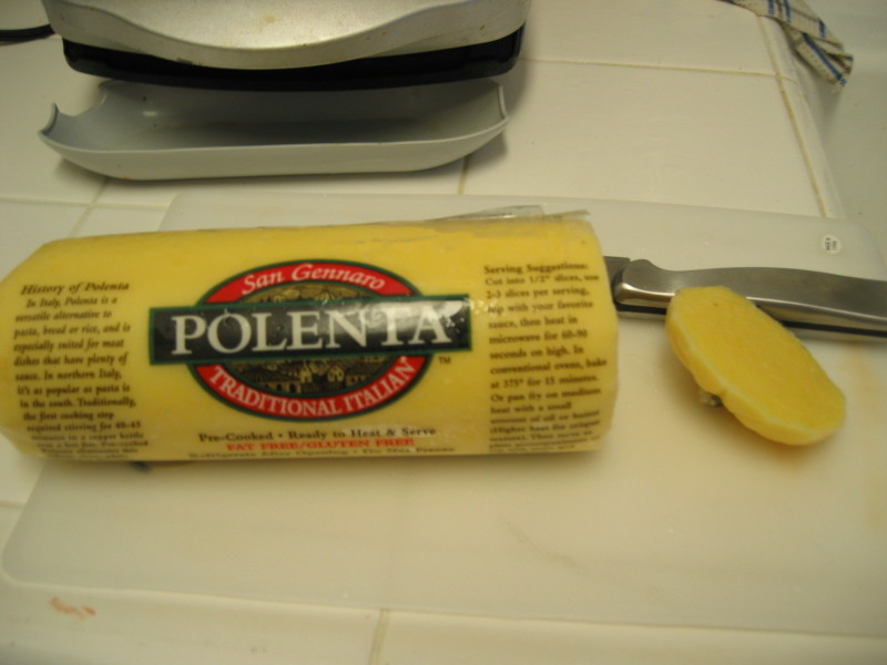 how to cook ready made polenta